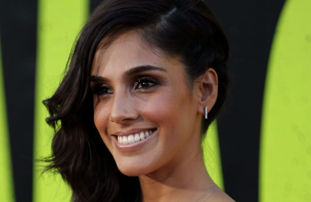 """Actress Sandra Echeverria attends the premiere of """"Savages"""" on Monday, June 25, 2012, in Los Angeles. (Photo by Matt Sayles/Invision/AP)"""