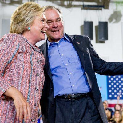 Hillary Clinton eligió como su compañero de fórmula al senador de Virginia, Tim Kaine.