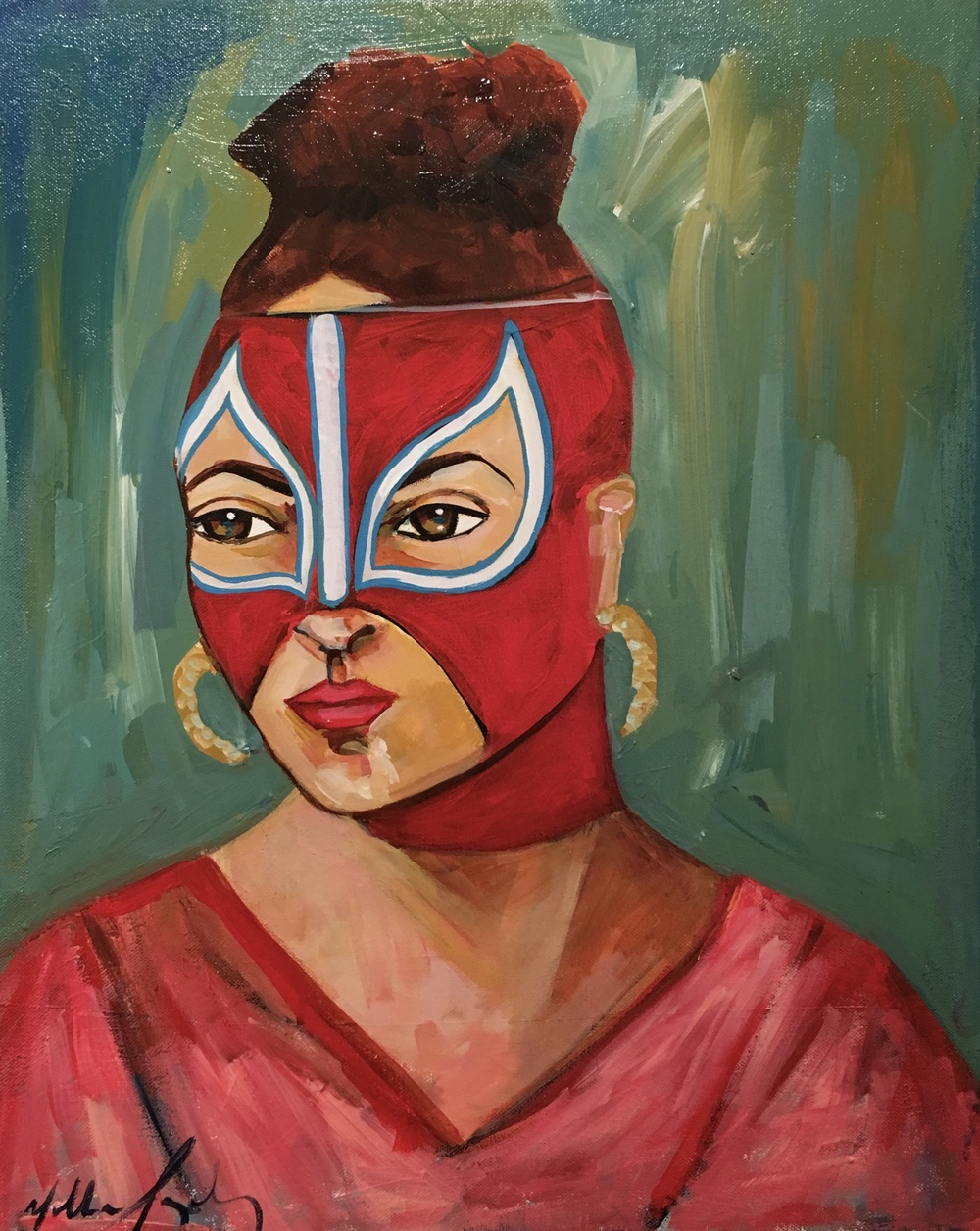 La Chingona. Yolanda González