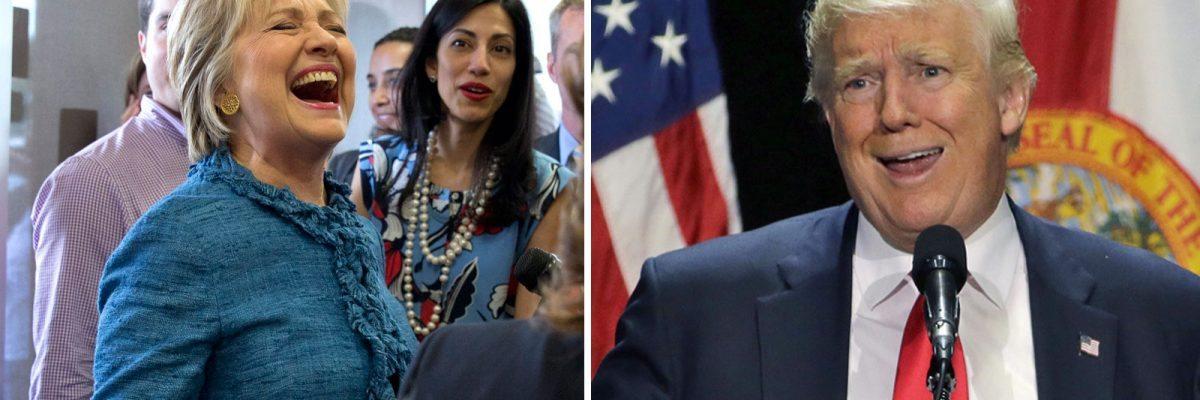 Hillary Clinton y Donald Trump están desesperados por captar el voto latino en Florida.