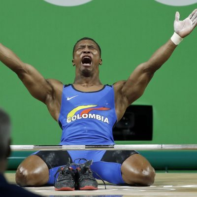 #Río2016: Oscar Figueroa gana el primer oro para Colombia