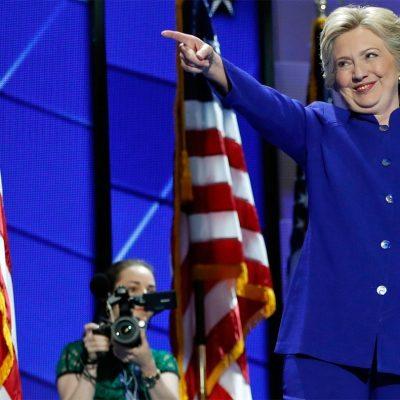 La candidata del Partido Demócrata, Hillary Clinton. (AP)