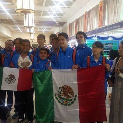 #GeniosMexicanos: Estudiantes mexicanos ganan 6 medallas en Torneo Internacional de Matemáticas