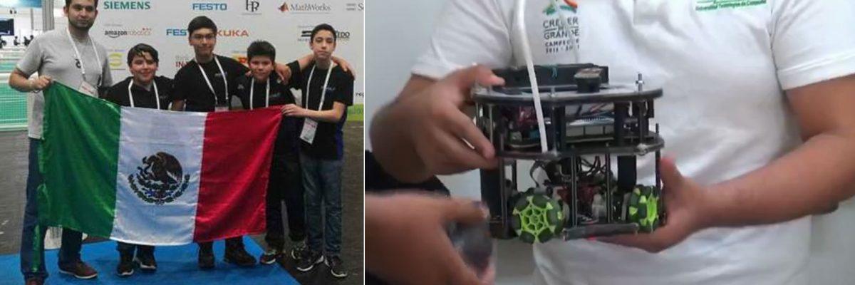 """#MexaTronics: Arrasan estudiantes mexicanos en las """"Olimpiadas"""" robóticas"""