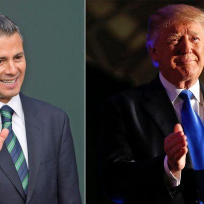 Peña Nieto, Trump,