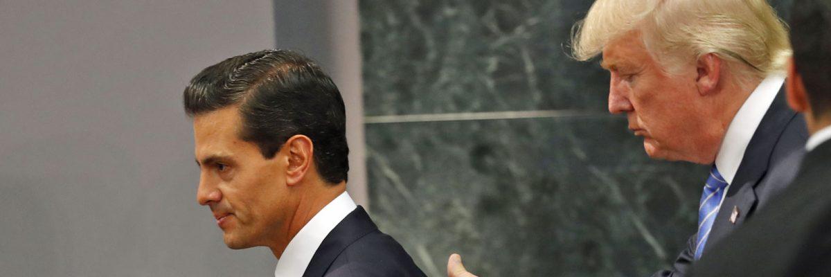 #Miedoso: Trump ya opera contra México, mientras Peña Nieto sigue pasmado