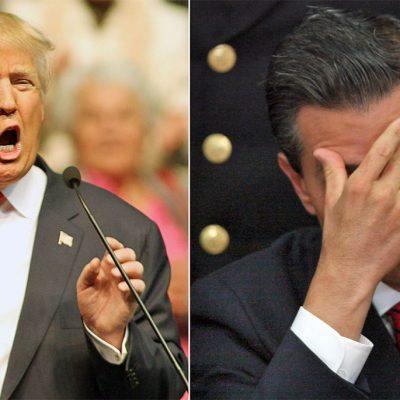 #México: ¿Qué está esperando Peña Nieto para responder a Trump como se merece?