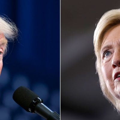 Debate presidencial entre Hillary Trump y Donald Trump