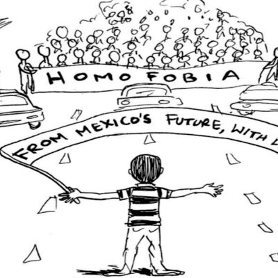 #ParenLaHomofobia: Julio Salgado rinde homenajealniñoque enfrentó a todos