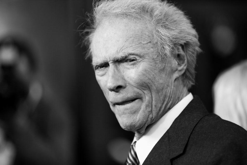 "Clint Eastwood arrives at the LA Premiere of ""Sully"" at The Directors Guild of America Theater on Thursday, Sept. 8, 2016, in Los Angeles. (Photo by Rich Fury/Invision/AP)"
