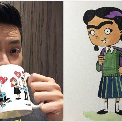 Artista australiano se inspira en Frida Kahlo para hacer cómic