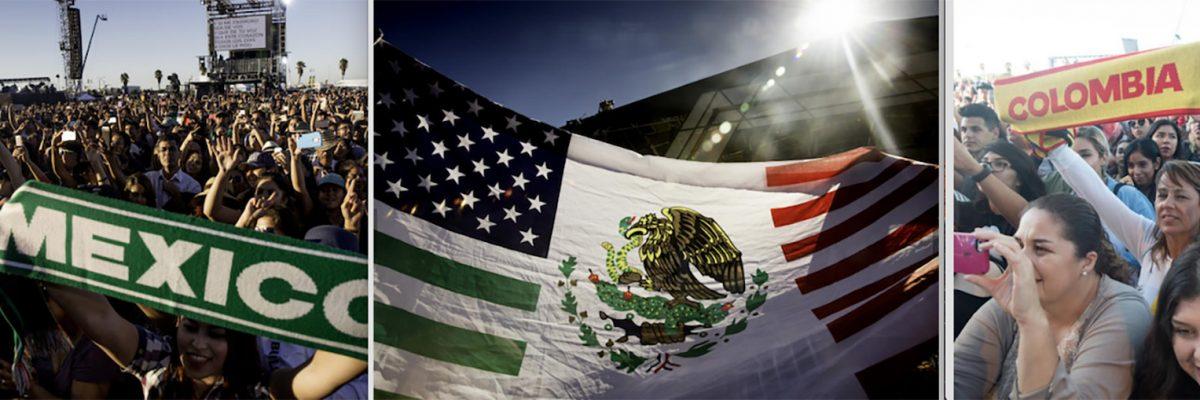 #ConciertoAmistoso: En la frontera los latinos convivimos en paz