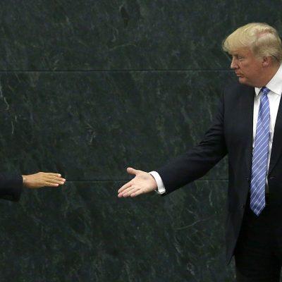 Trump habló bien de Peña Nieto... ¿de dónde tan cuatitos?