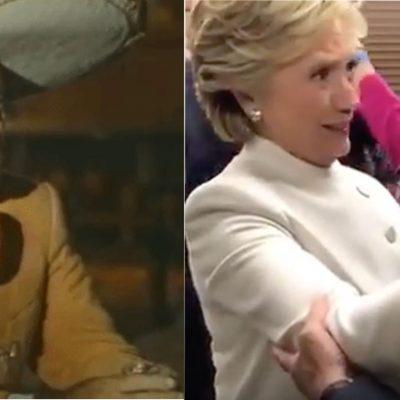 Esto es lo que solo nosotros captamos que le dijo Vicente Fernández a Hillary Clinton