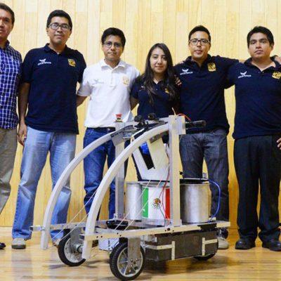 #GeniosEspaciales: Estudiantes mexicanos ganan premio de la NASA por robot explorador de Marte