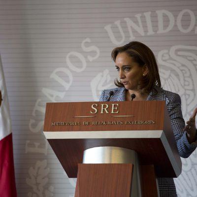 No pagaremos por el muro, reitera México al presidente electo Trump