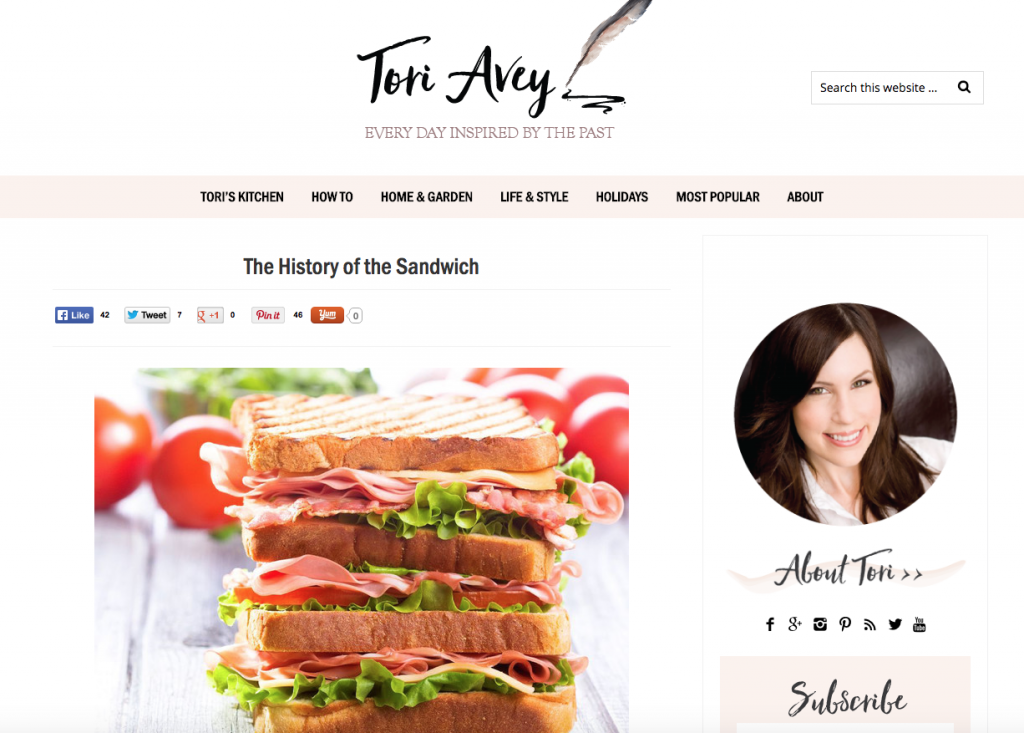 ToriAvey-webpage