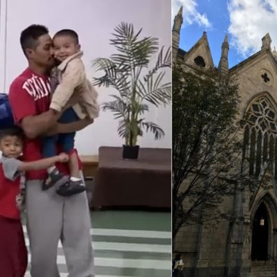 """#EnManosDeDios: Mexicano se refugia de """"La Migra"""" en una iglesia"""