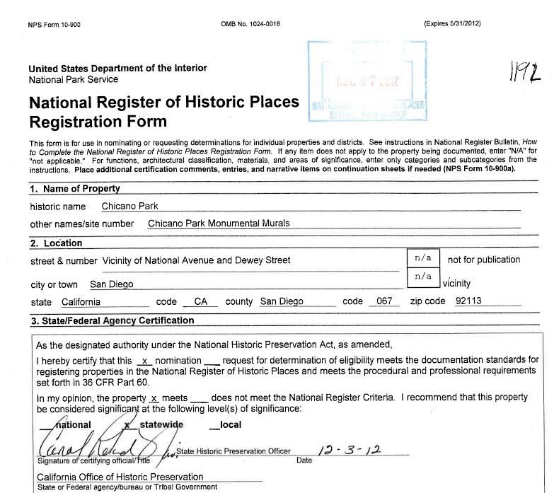 national historic