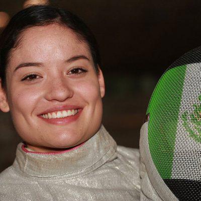 #HechaEnMéxico: Joven mexicana es reconocida como la mejor esgrimista del mundo