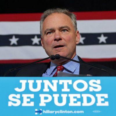 #Histórico: El primer discurso en español en un acto de campaña presidencial sonó MUY bien