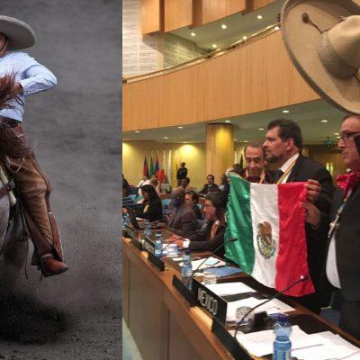 #DeMéxicoParaElMundo: Nombran a la Charrería Patrimonio Inmaterial de la Humanidad