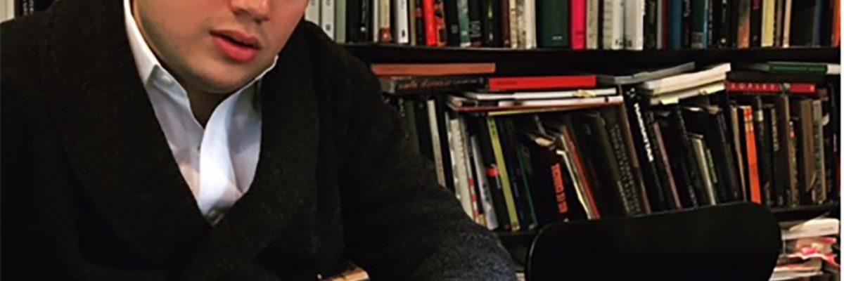 #ContraElTiempo: Luciano Concheiro, piensa, escribe y no pierde el tiempo