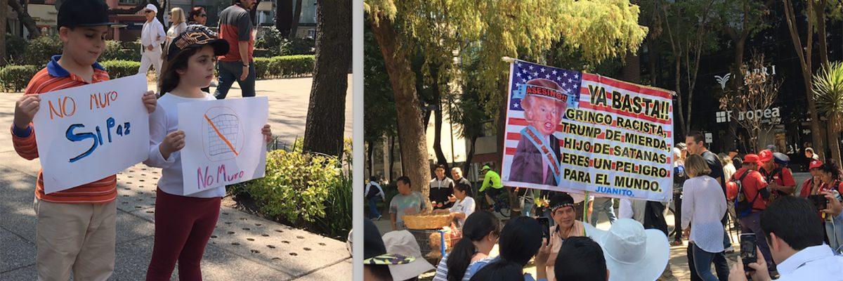 #VibraMéxico: Marchamos junto a los mexicanos contra Trump y esto fue lo que aprendimos