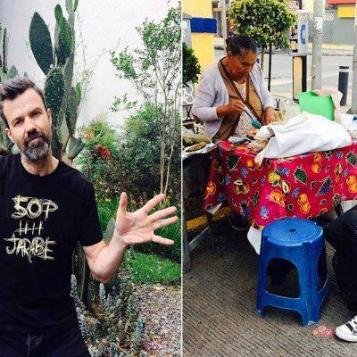 #50Palos: Pau Donés imita a un cactus y disfruta de unas quesadillas en México