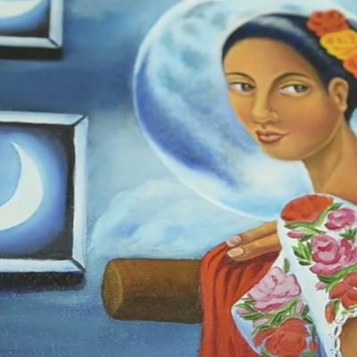 #Arte: La oaxaqueña que conquistó Estados Unidos con su obra