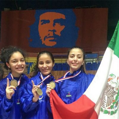 #SablesDeOro: El equipo femenil mexicano de esgrima hizo la hazaña en Cuba