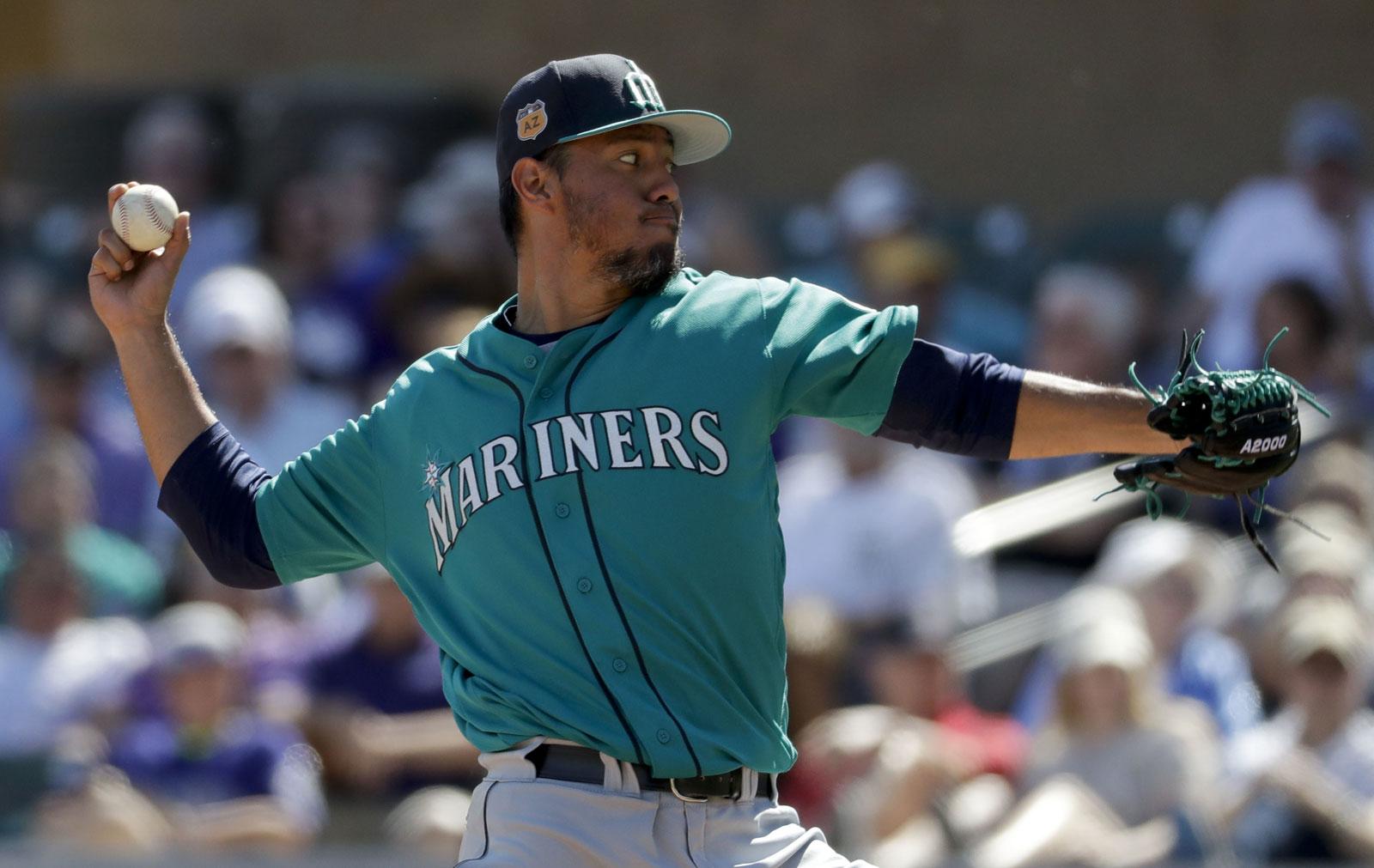 Yovani Gallardo, pitcher de Marineros de Seattle