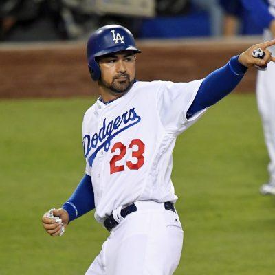 Adrián González, pelotero de Los Dodgers de Los Ángeles
