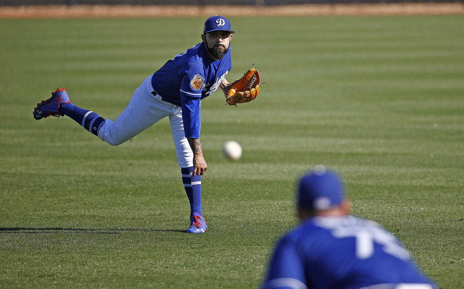 Sergio Romo, pitcher de los Dodgers de Los Ángeles