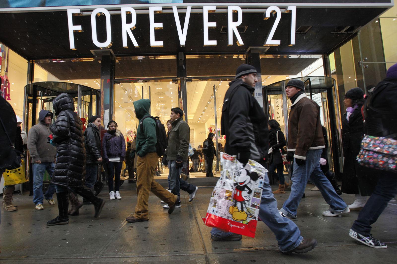 Forever 21 fue demandado en California