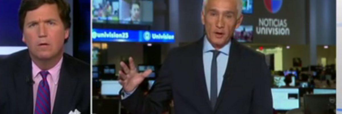 #PaQueSeEduquen: 3 veces que Jorge Ramos enfrentó a los presentadores de Fox News