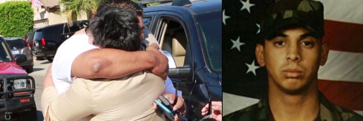 #WelcomeHome: Veterano mexicano gravemente herido en Irak recibió el regalo y el honor que se merece