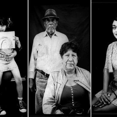 Estas son las caras de quienes viven en la frontera entre Tijuana y Estados Unidos