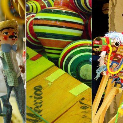 Los juguetes más populares de México.