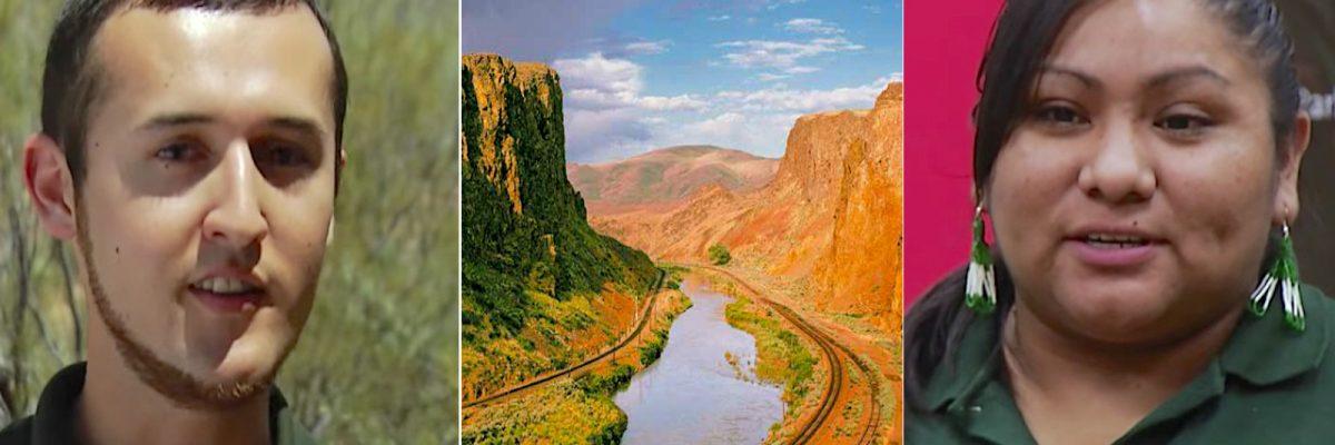 Latinos en los parques nacionales.