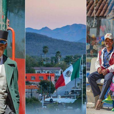 Las instantáneas de un viaje por México.