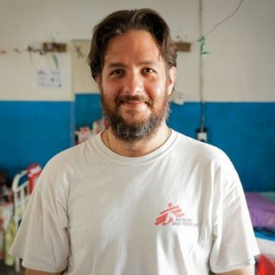 Dr. Alonso Cosío (Foto, MSF)