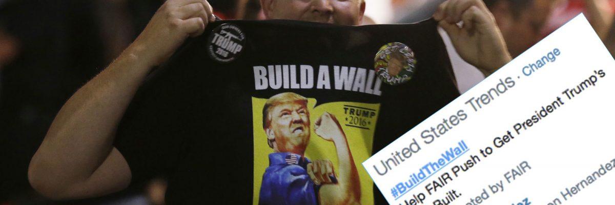 Build The Wall hashtag