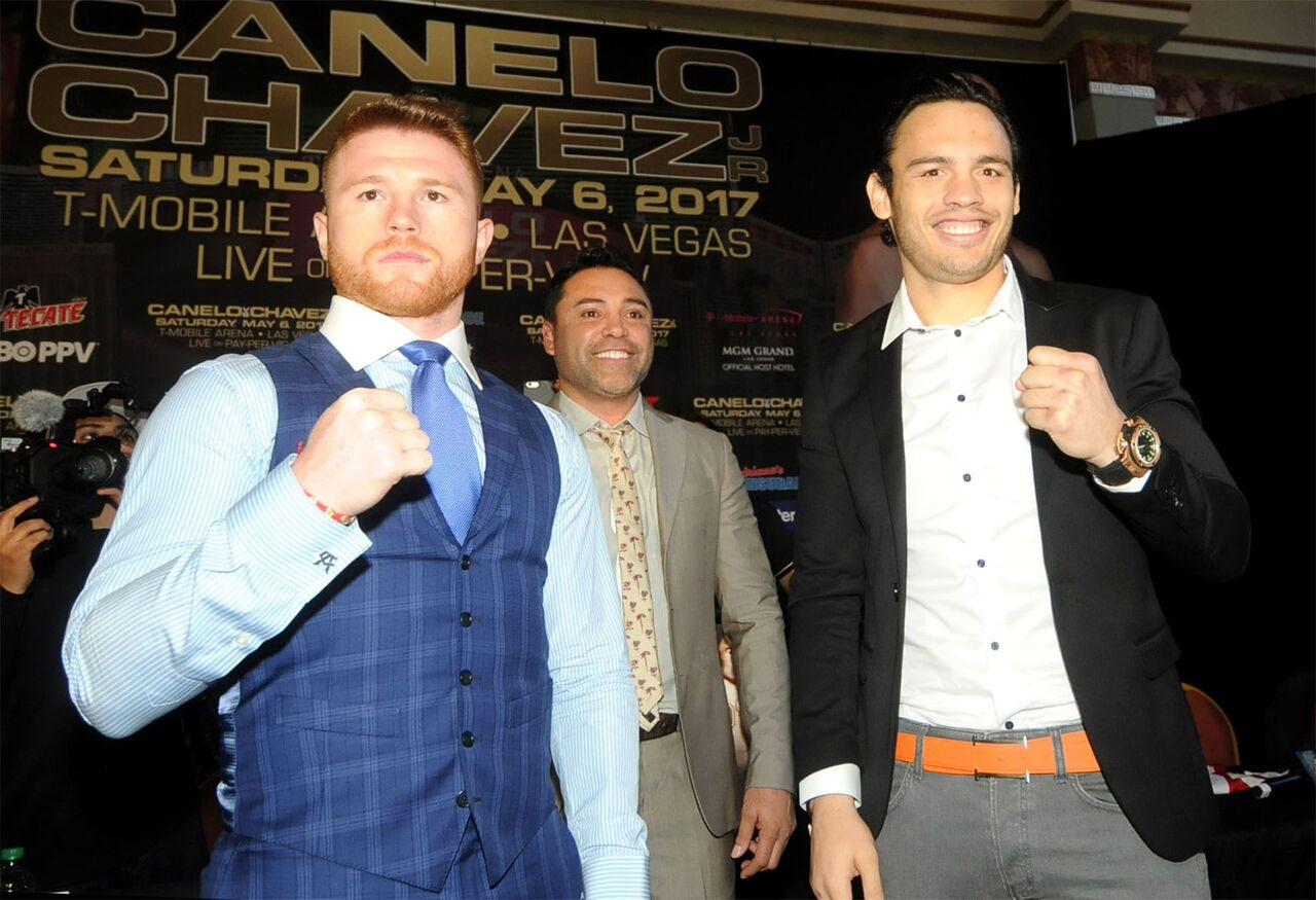Canelo Alvarez vs JC Chavez Jr