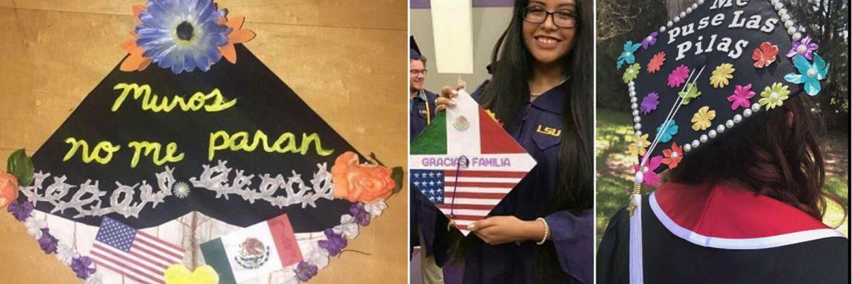Birretes de graduación latinos
