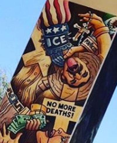 Mural en el Chicano Park de San Diego