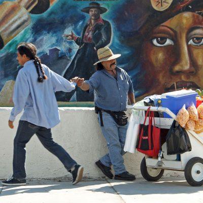Vendedores Callejeros en Los Ángeles