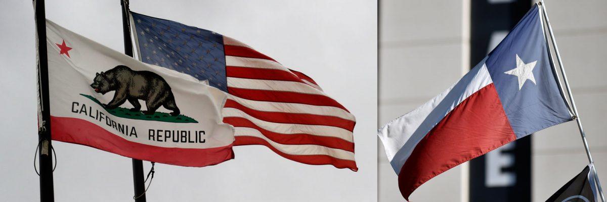 #CaliforniaVs.Texas: Los estados más poblados del país, enfrentados por el tema de inmigración