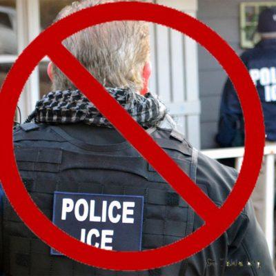 ICE busco a un niño en una primaria de NYC