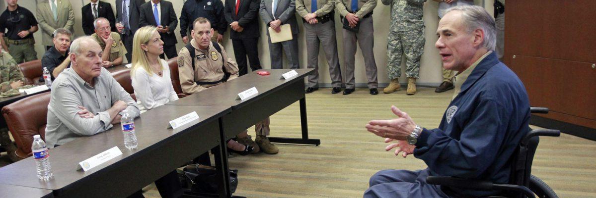 #AbbottLandia: Trump elige a Texas para iniciar su muro… y no es casualidad
